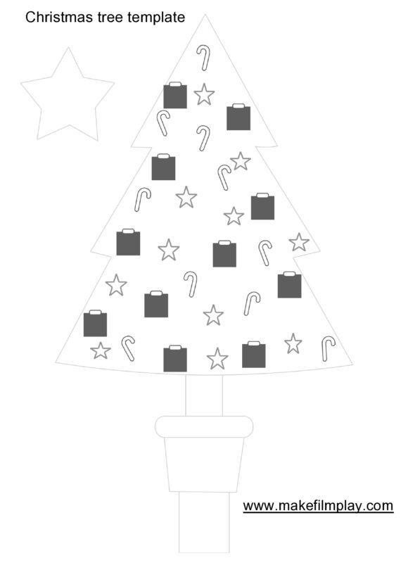christmas tree template 08
