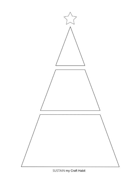 christmas tree template 10