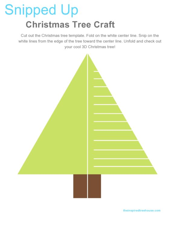 christmas tree template 15