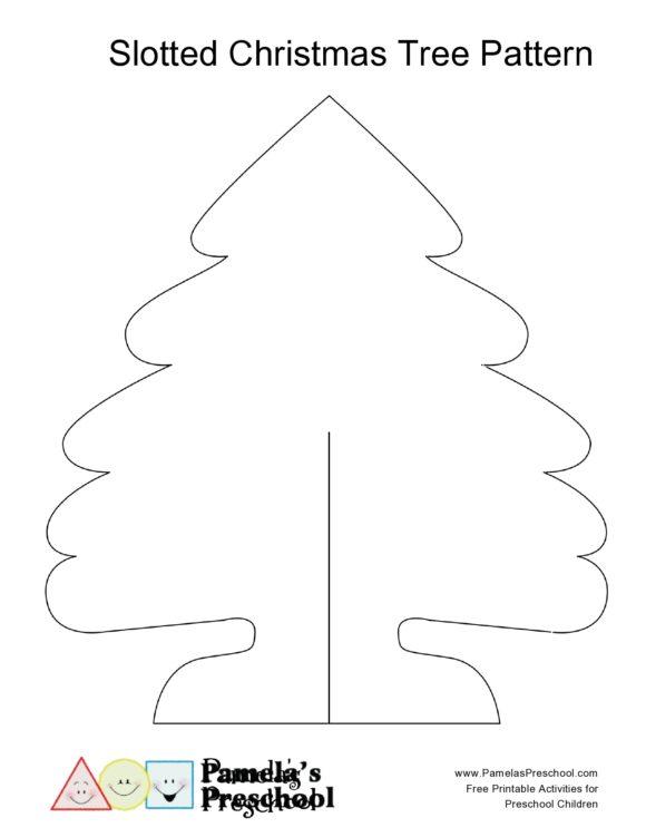 christmas tree template 16