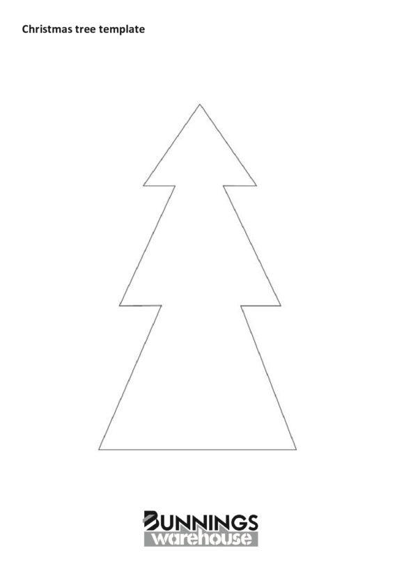 christmas tree template 19