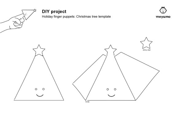 christmas tree template 24