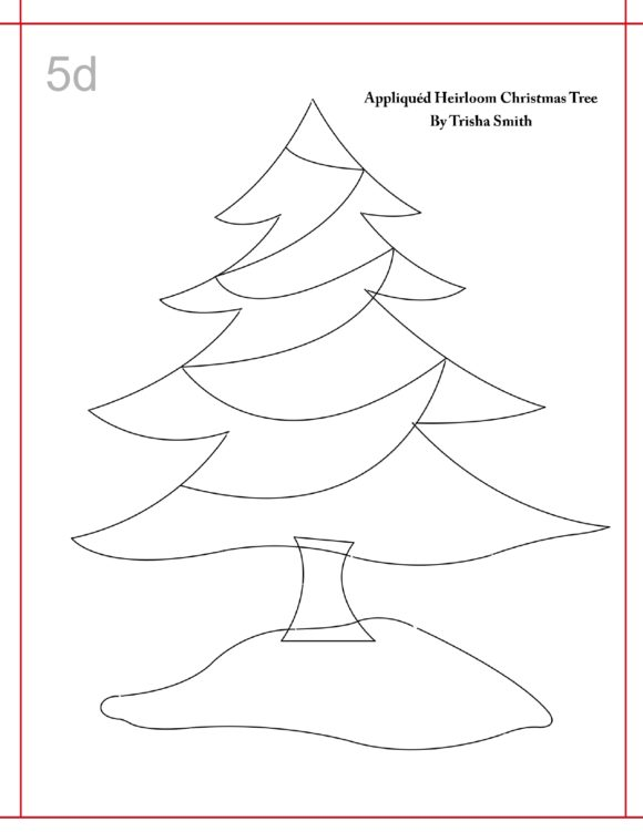 christmas tree template 25