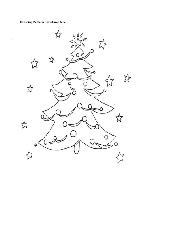christmas tree template 28