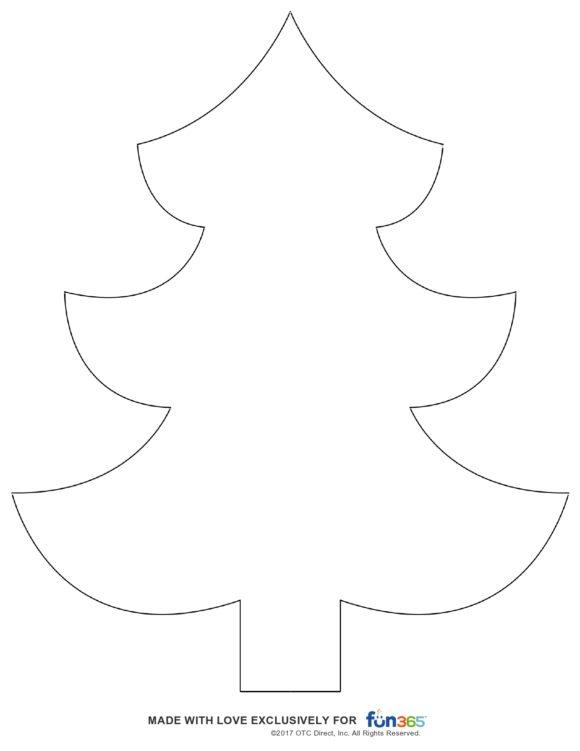 christmas tree template 31