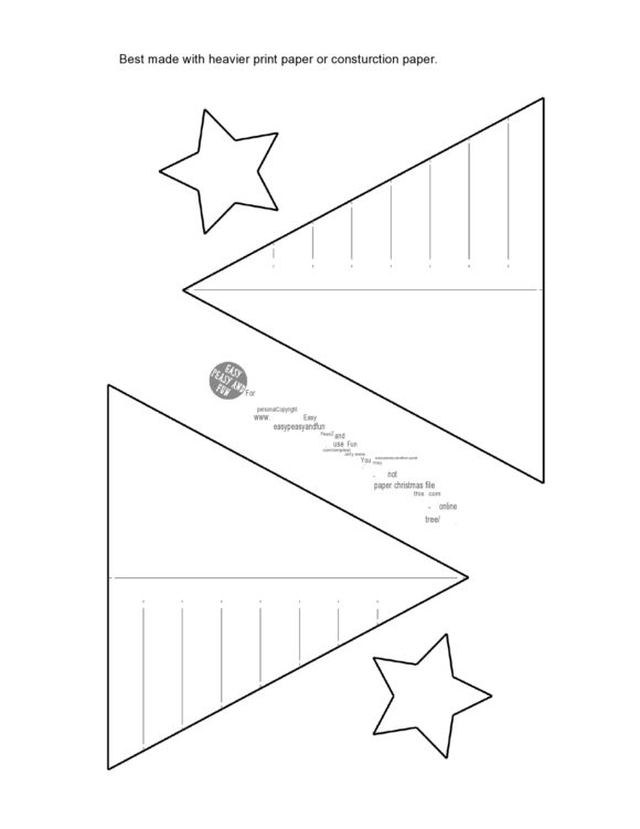 christmas tree template 32