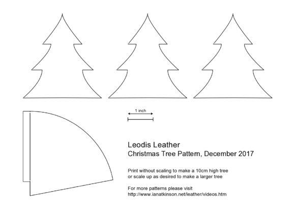 christmas tree template 34