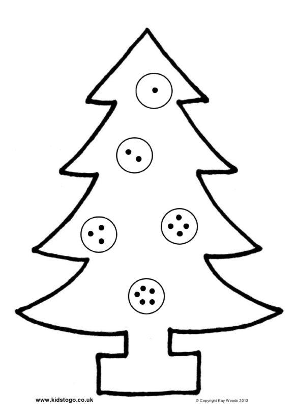 christmas tree template 35