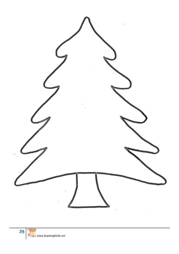 christmas tree template 36