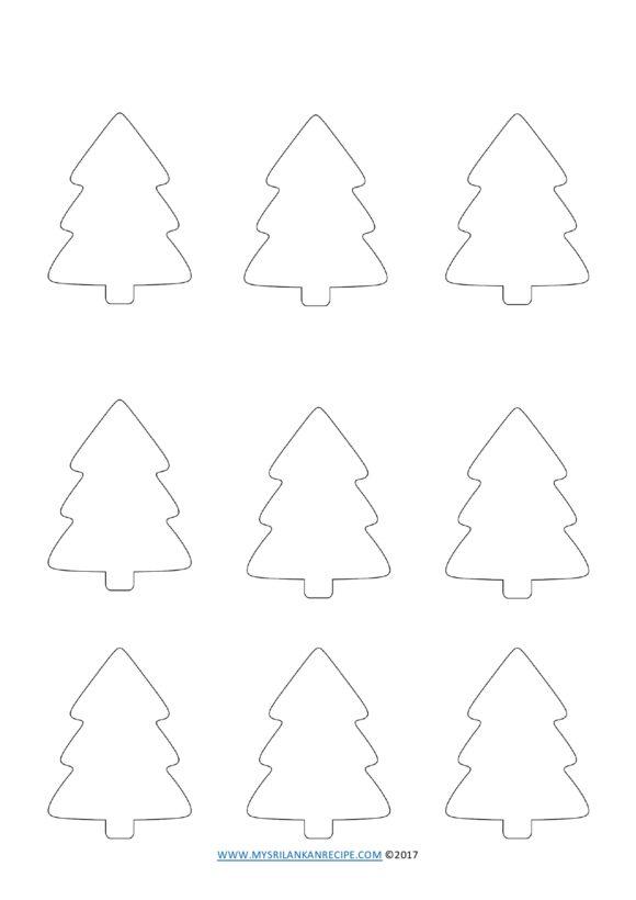 christmas tree template 39