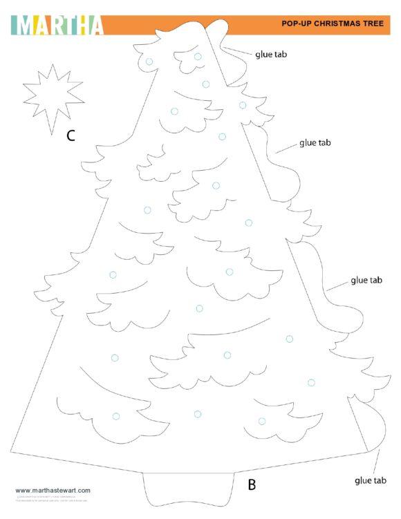christmas tree template 43