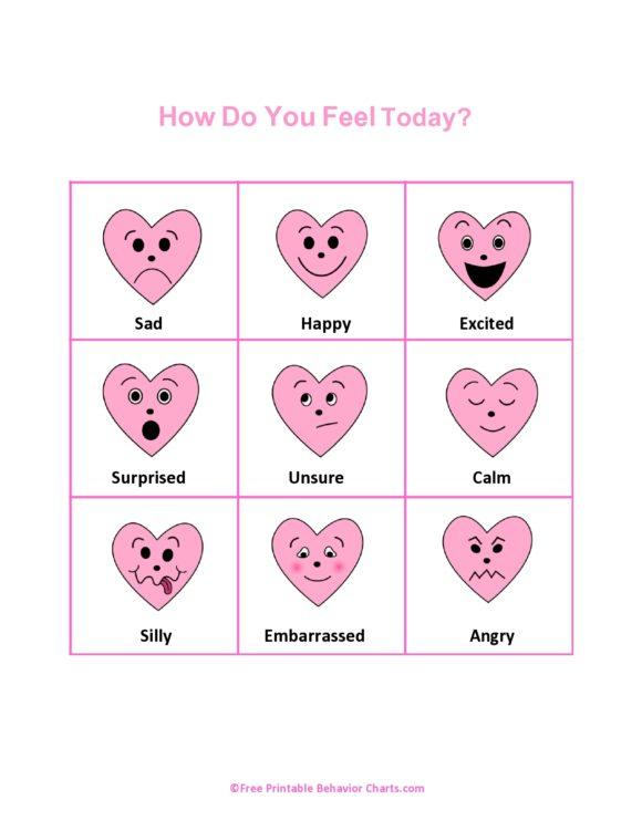 feelings chart 14