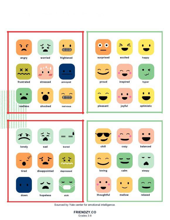 feelings chart 17