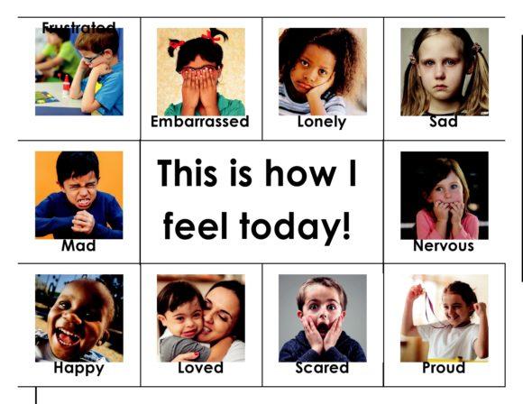 feelings chart 18