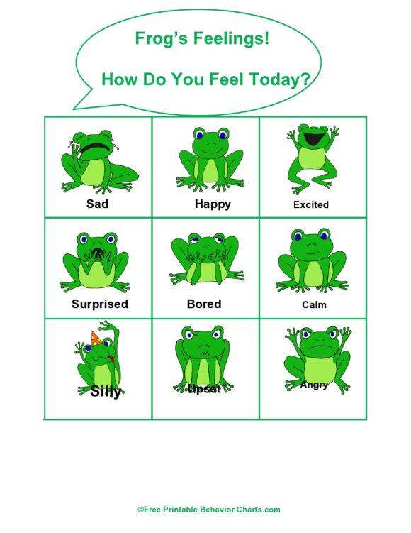 feelings chart 26