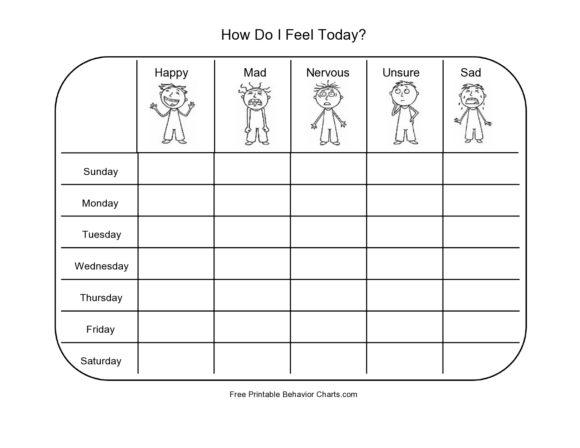 feelings chart 32