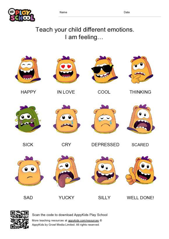 feelings chart 33