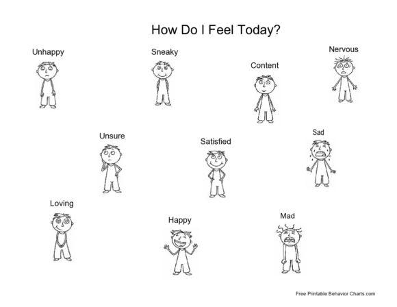 feelings chart 40