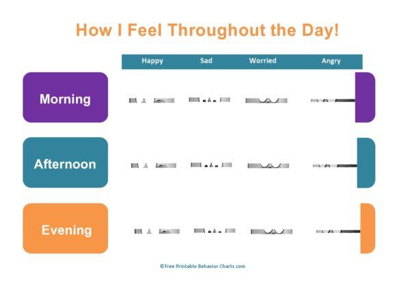 feelings chart 48