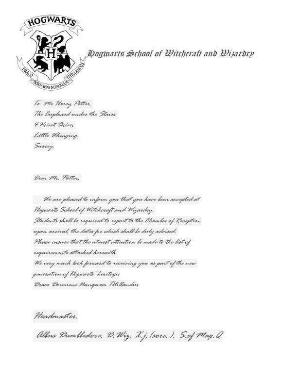 hogwarts acceptance letter template 15