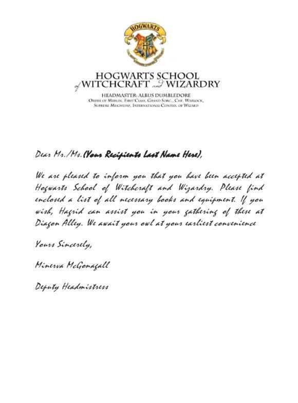 hogwarts acceptance letter template 20