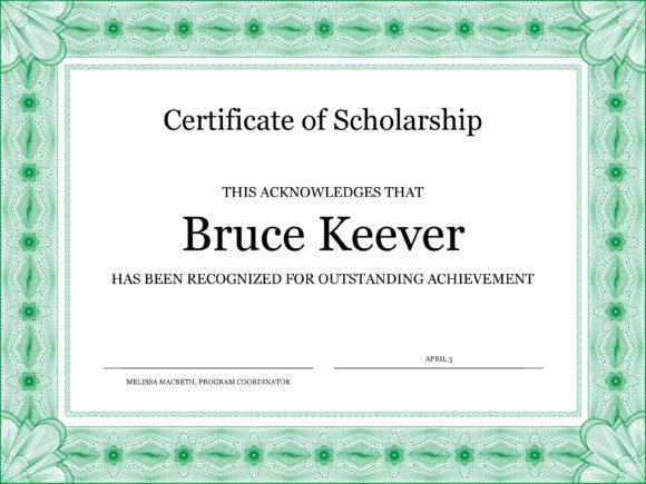 scholarship certificate 01