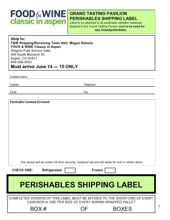 shipping label template 11