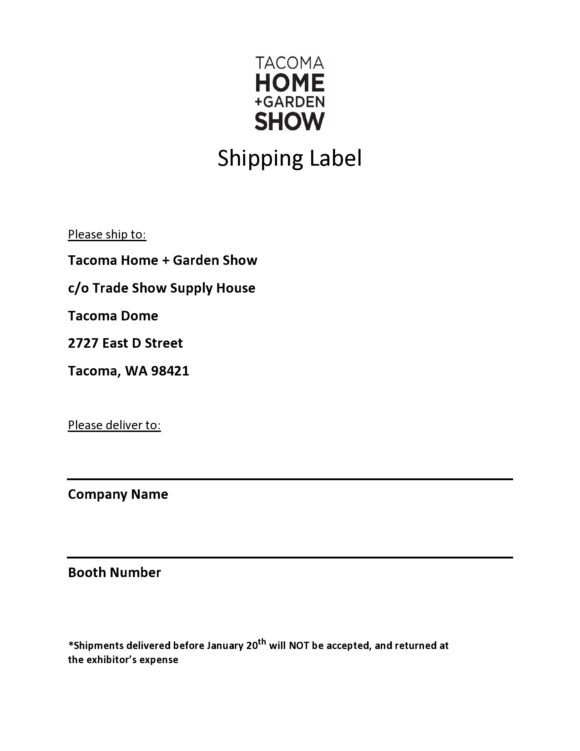 shipping label template 23