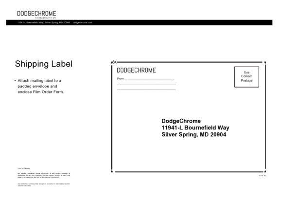 shipping label template 28