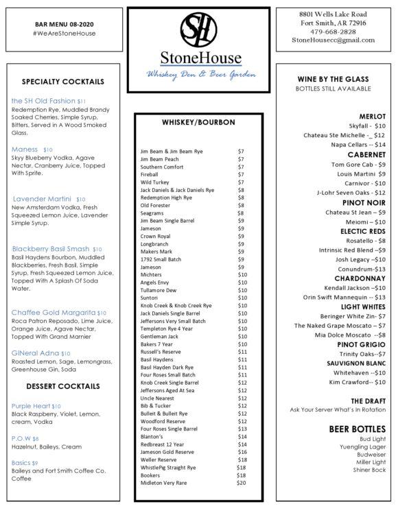 drink menu template 04