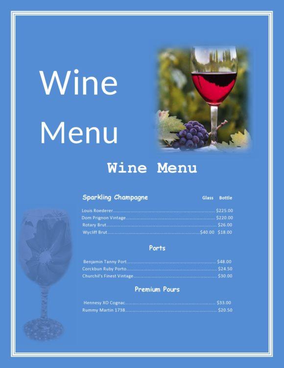 drink menu template 06