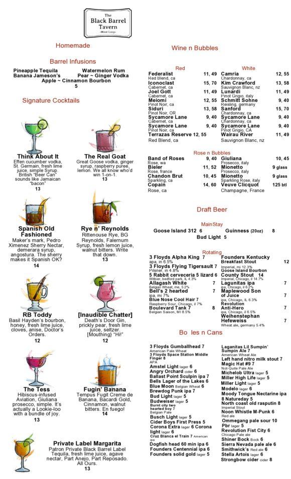 drink menu template 09