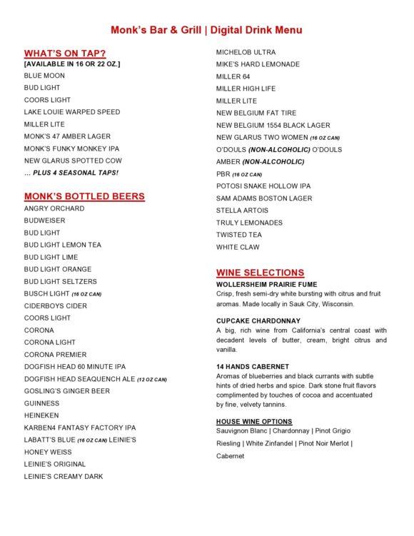 drink menu template 17