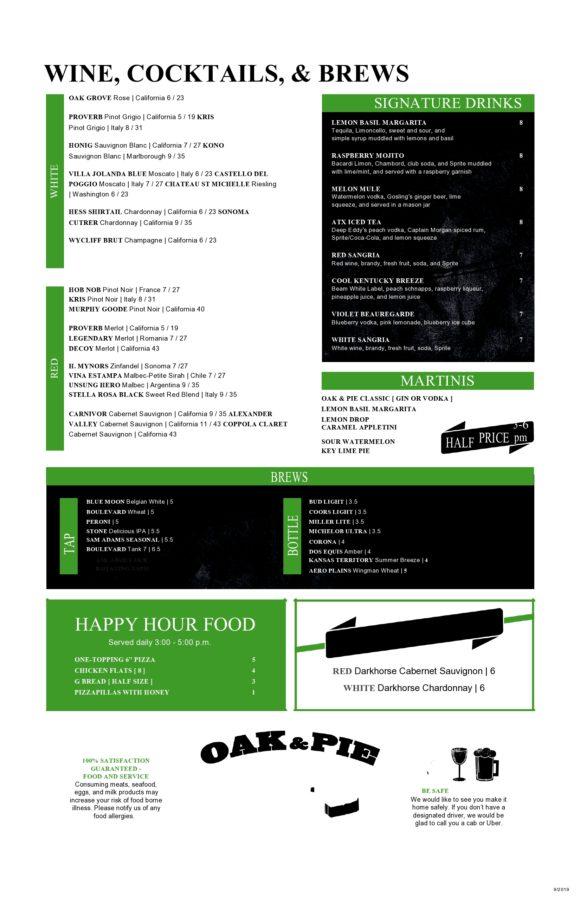 drink menu template 20