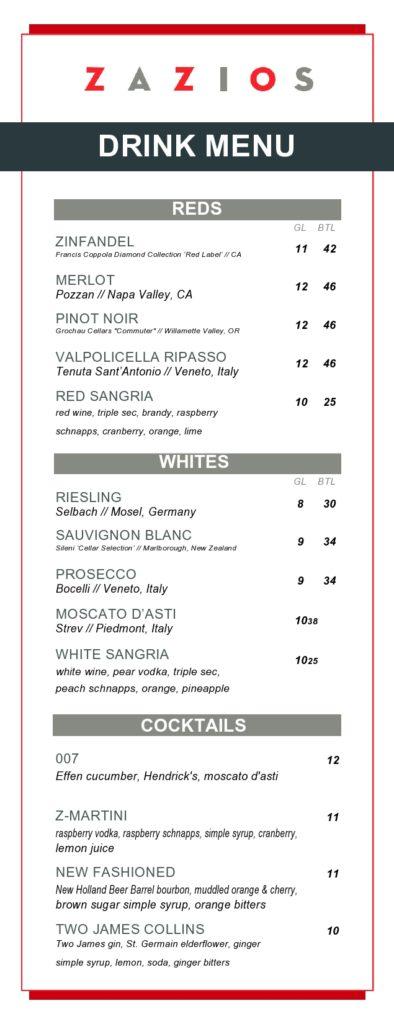 drink menu template 21