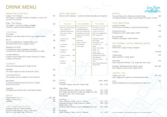 drink menu template 25