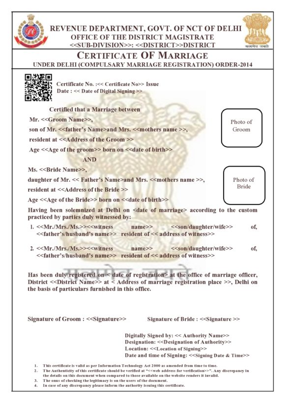 marriage certificate template 27