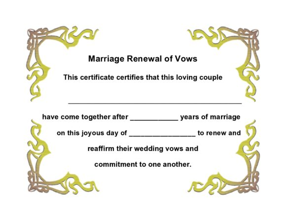 marriage certificate template 30