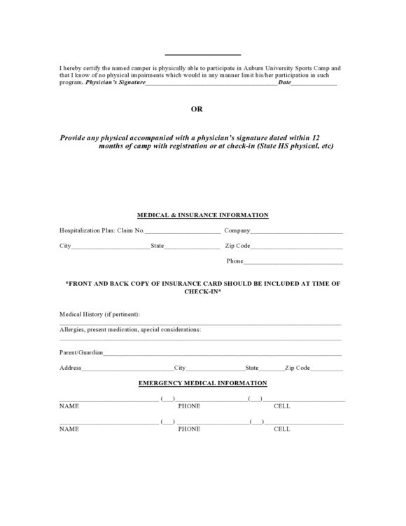 medical clearance form 03