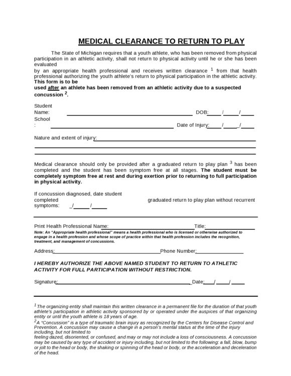 medical clearance form 04