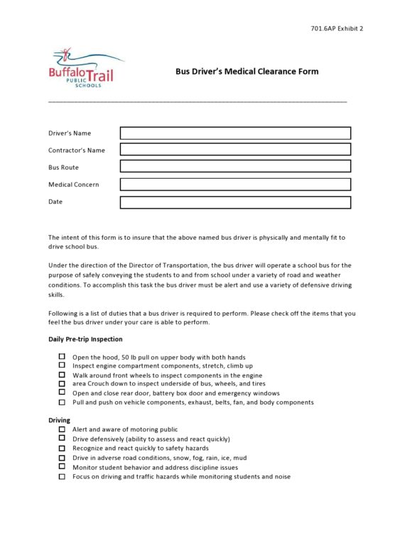 medical clearance form 08