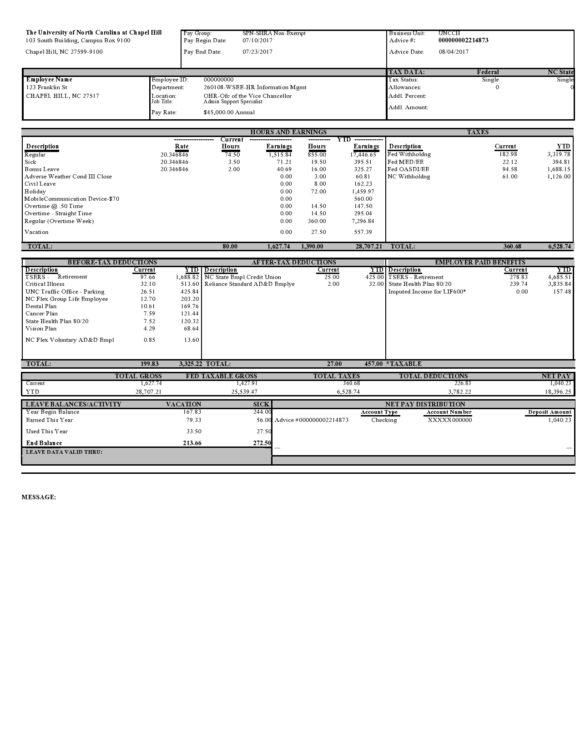 30 Free Pay Stub Templates Excel Word Printabletemplates