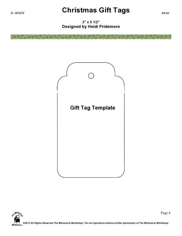 printable gift tag 12