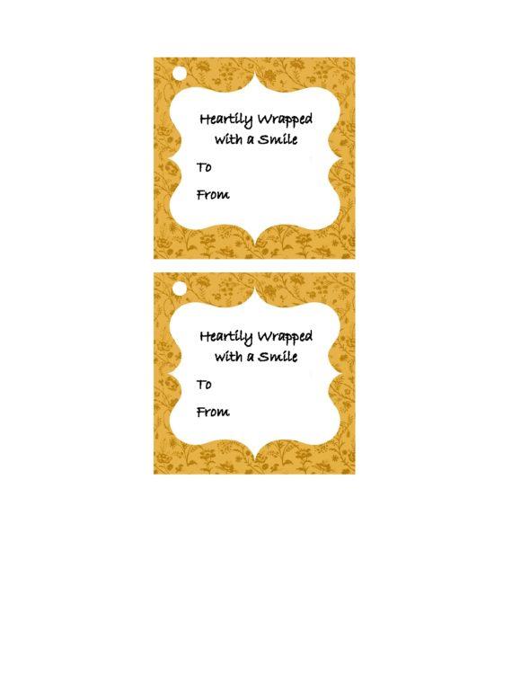 printable gift tag 24