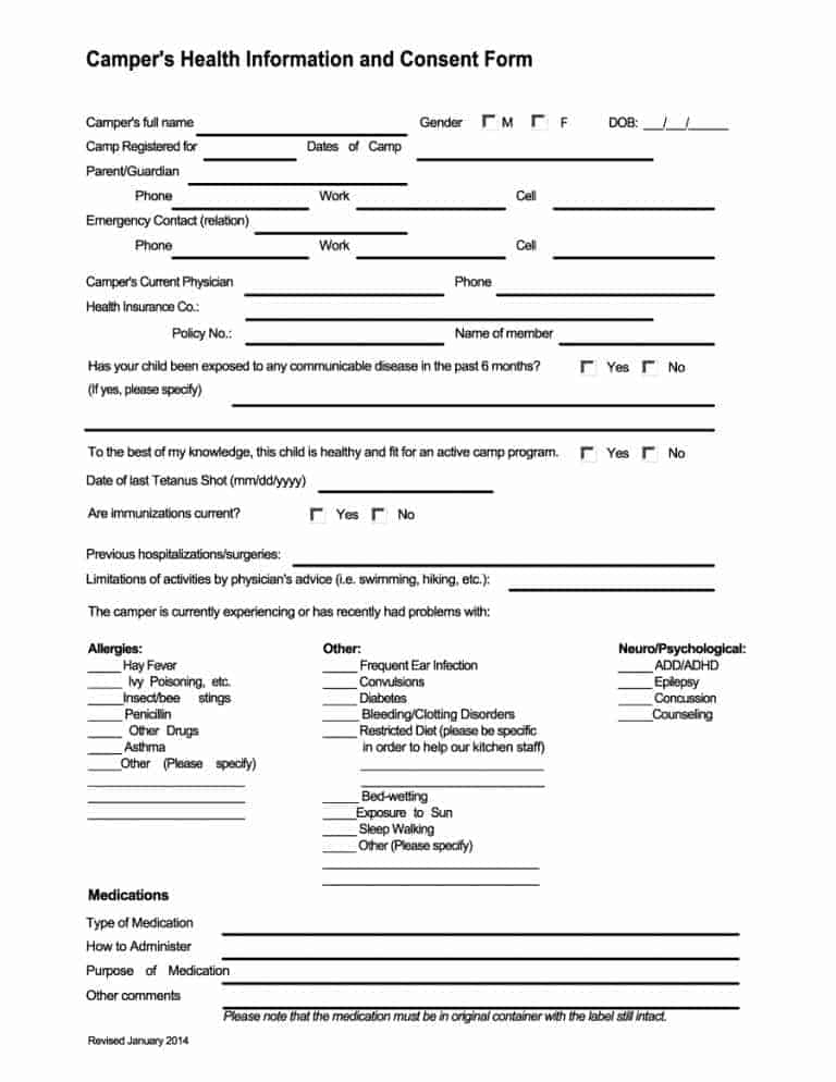 medical consent form 39