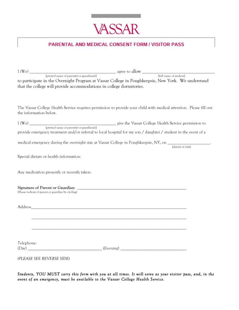 medical consent form 40