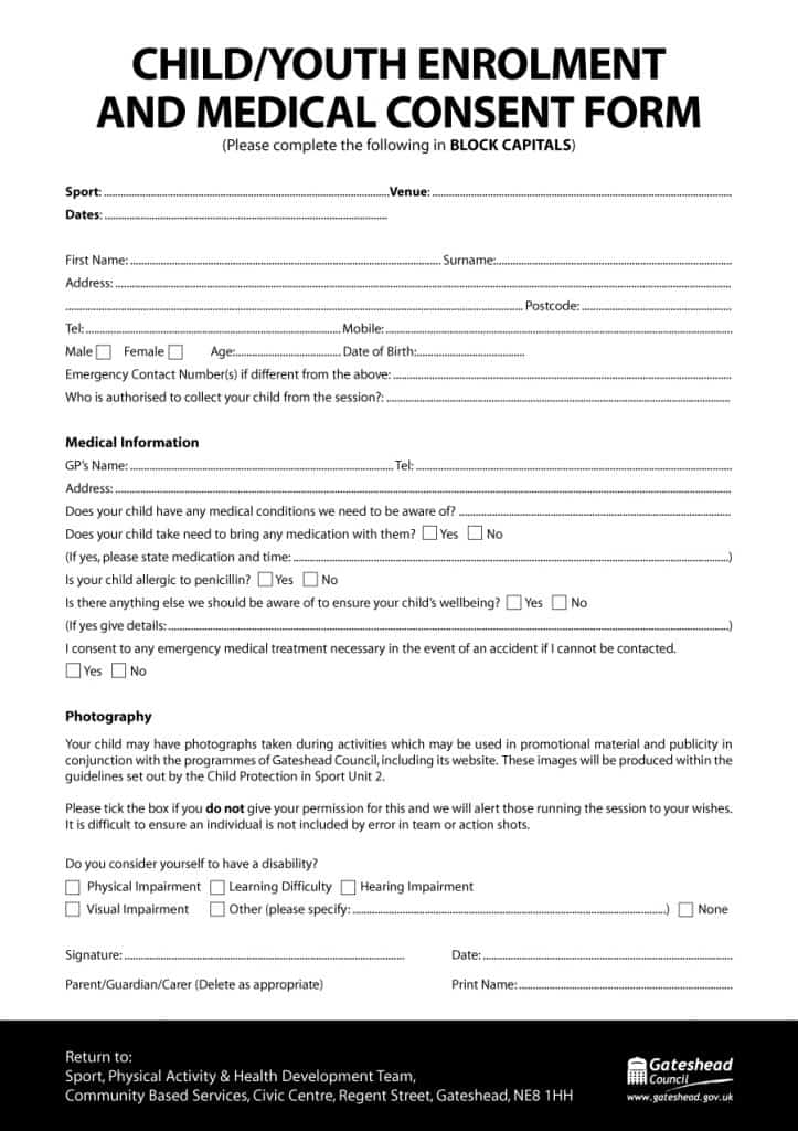 medical consent form 44