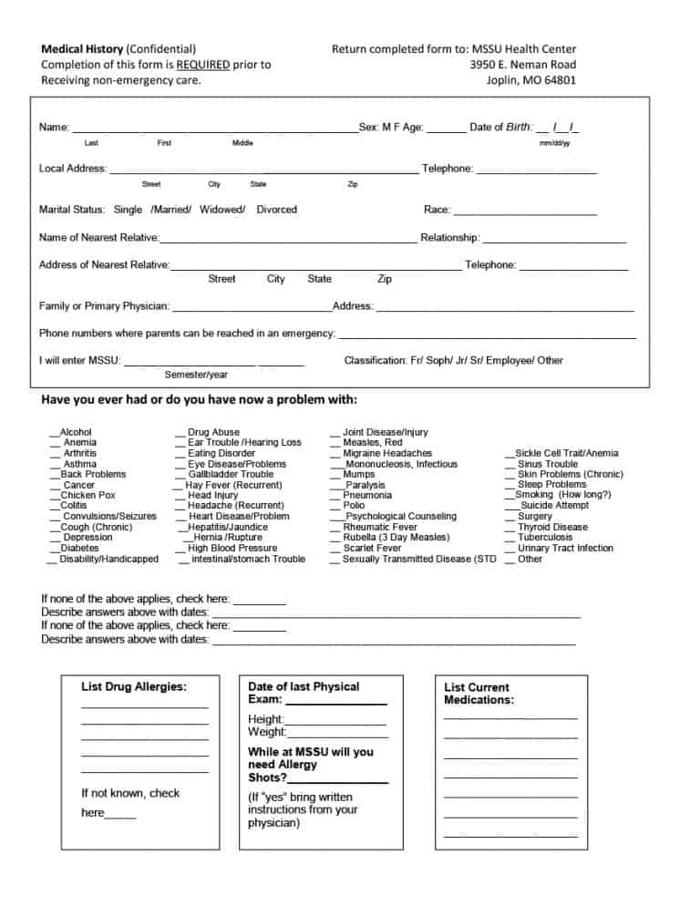 Eye Exam Form Template - Apigram.Com